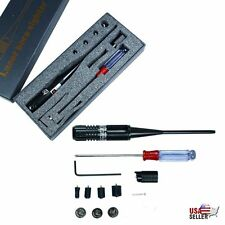 Red Laser Bore Sight Kit Boresighter for .22 to .50 Caliber Scope Handgun Rifles