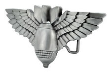 Bomb with Wings Belt Buckle Miltary Weapon Painted Metal Cool Unique New