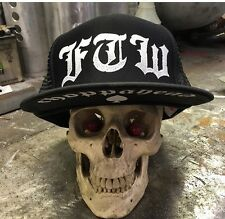 Choppahead FTW Trucker hat with under brim logo - chopper, bobber, kustom