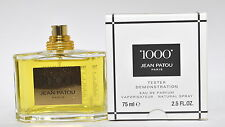 1000 Eau de Parfum Spray 75mL-2.5 oz By Jean Patou Tester No Cap