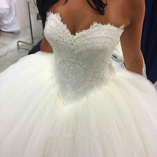 New white/ivory Wedding dress Bridal Gown custom size 2 4 6 8 10 12 14 16 18