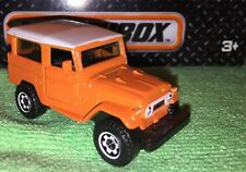 Matchbox 1968 Toyota Land Cruiser FJ40 Orange Fresh From Pack 1:64 Die Cast