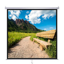 """Instahibit™ 100"""" 1:1 70"""" x 70"""" Manual Pull Down Projector Projection Screen"""