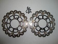 05 06 SUZUKI GSXR1000 ARASHI FRONT LEFT RIGHT BRAKE ROTORS PAIR OF DISCS 05 06