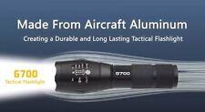 NEW Tactical G700 Flashlight - 700 Lumens Aluminum 2000x - Lumitact  Ships Fast