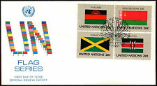 United Nations 1983 Flags Series FDC First Day Cover #C36034