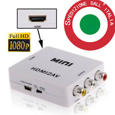 Adattatore VERO Convertitore video da HDMI a AV RCA Interfaccia HDMI2AV