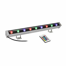 US RGB Linear Wall Wash Light with Remote 9W Bar DJ Stage Lighting Backlighting