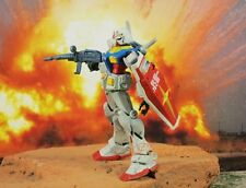 BANDAI MOBILE SUIT GUNDAM Robot RX-78 Figure Model Kit Painted Diorama K1010_G