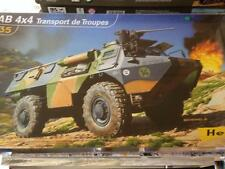 HELLER VAB 4X4 TRANSPORT DE TROUPES 1/35 MODELKIT
