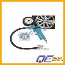 Tire Inflator with Pressure Gauge
