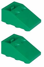 Missing Lego Brick 3747 Green x 2 Slope Brick 33 3 x 2 Inverted