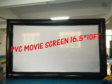Square Advertisement 16.5*10 FeetS PVC Screen With  blower  110v USA SELLER