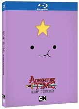 ADVENTURE TIME  - SEASON 6   - BLU RAY Sealed Region free for UK