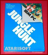 Jungle Hunt for the IBM PC Computer NEW SEALED