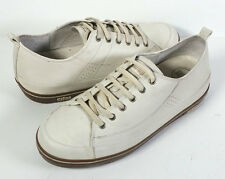FITFLOP 8 Bone LEATHER SNEAKERS WALKING SUPERTONE TRAINERS *PRIMO* SIZE 39 / 8