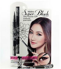 Mistine Super Black pen eyeliner automatic waterproof long lasting 1g