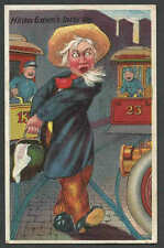 DATE 1910 PPC* VINTAGE HIRAM GREENS BUSY DAY CAUGHT IN HEAVY TRAFFIC SEE INFO