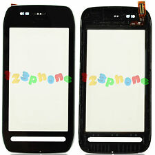 TOUCH SCREEN LENS DIGITIZER + FRAME + KEYPAD FOR NOKIA LUMIA N710 710 #GS-238