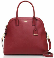 NWT $398 Kate Spade MEGA Margot Train Car Red Saffiano Leather Satchel Purse Bag