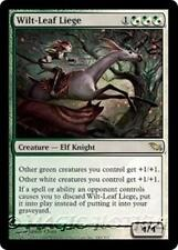 WILT-LEAF LIEGE Shadowmoor MTG White/Green Creature — Elf Knight RARE