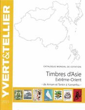 Yvert catalogus China catalogue Japan Korea Katalog catalogo Outre-mer 2015 Azië