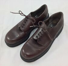 Nine West Mens 9M Brown Lace Up EUC