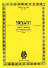 Mozart: Concertone In C Major kv190 (estudio puntuación) etp1249