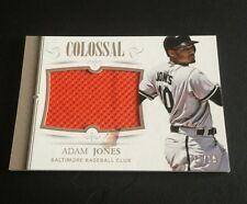 2014 PANINI NATIONAL TREASURES COLOSSAL ADAM JONES GU JERSEY 19/99 NICE