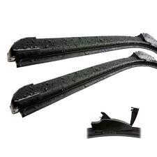 Hyundai i10 Front Aero Flat Window Car Wiper Blades Genuine ID26584