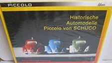 """Buch """" Historische Automodelle Piccolo von SCHUCO """" Henning"""