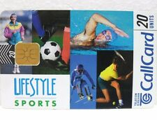 "SCHEDA TELEFONICA IRLANDA-""LIFESTYLE SPORTS""-Call Card-20 units-TELECOM EIREANN"