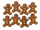 Jesse James Buttons ~ Dress It Up ~ Iced Cookies 5553 ~ Gingerbread Man