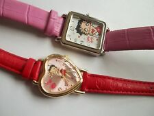 2 BETTY BOOP watches,great working cnd,