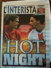 2008/09 Inter Milan v Manchester United Champions League
