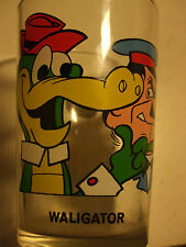 verre à moutarde French Drinking Glass WALIGATOR Hanna Barbera