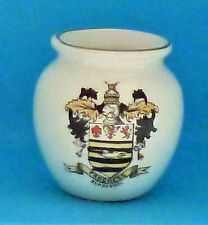 BLACKPOOL Ware China Jar Vase with the Borough Council Coat of Arms Seaside Town