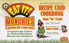 "R. CRUMB DANA CRUMB EAT IT! RECIPE CARD COOKBOOK 40th ANNIVERSARY EDITION ""POT"""