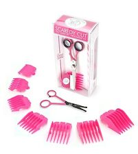 SCAREDY CUT + TINY TRIM Silent Pet Grooming Kit for ALL DOGS, Pink COMBO
