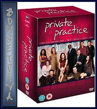 PRIVATE PRACTICE - COMPLETE SEASONS 1 2 3 4 & 5  *BRAND NEW DVD BOXSET *