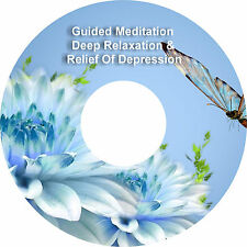2 x Guided Meditación Alivio De La Depresión & Adicional Deep Relaxation on 1 CD
