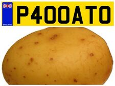JACKET POTATO SPUD VAN TRAILER FOOD PRIVATE NUMBER PLATE ADVERTISE YOUR GRUB