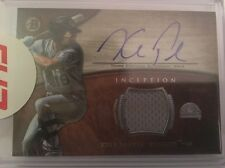 Kyle Parker 2014 Bowman Inception Relic On-Card Auto - Rockies Top 100 Prospect