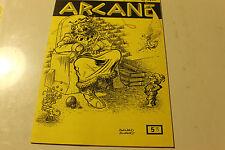 Magasine magie ARCANE 53 publication de l amicale robert HOUDIN de LYON