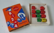 SCHOWANEK ARITHMETIC GAME AGE 5+ 2+PLAYERS 10 DIE to CREATE LONGEST EQUATION
