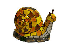 Solar Lighted Snail Accent Light -- Landscape Ornament