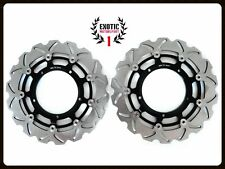 Front Brake Disc Rotors Set For Yamaha R1 & FZ1  Wave Rotors