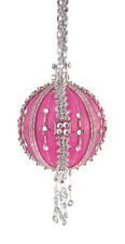 The Cracker Box Diamond Jubilee Hot Pink Christmas Ornament Kit
