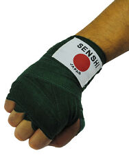 100% Cotton Hand Wraps GREEN For Boxing MMa Muay Thai Inner Gloves (Pair) - New