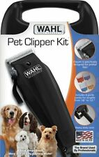 10Pc Professional Powerful Pet Hair Fur Trimmer Dog Cut Clipper Grooming Kit SET